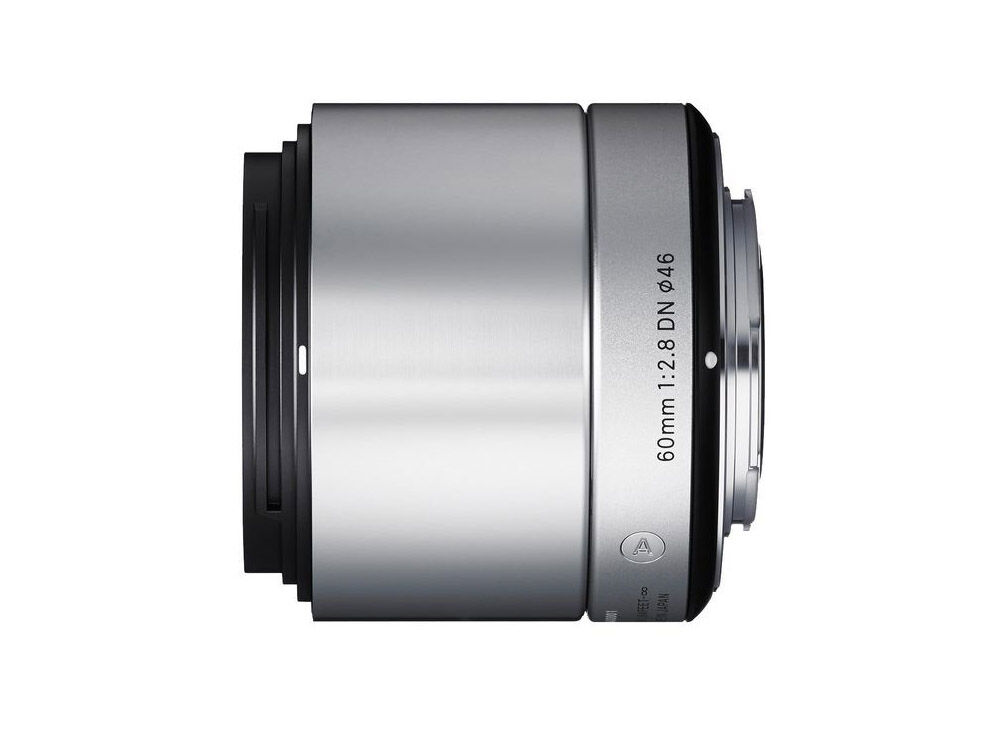 Sigma 60mm f/2,8 DN Art  hopeinen/ Micro 4/3