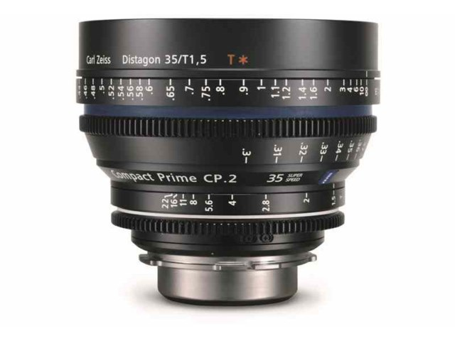 Zeiss Compact Prime CP.2 35mm T1.5 Super Speed Canon