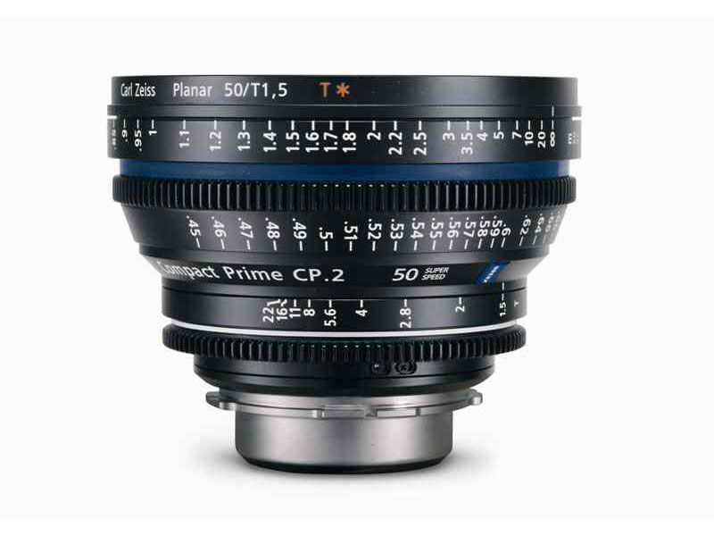 Zeiss Compact Prime CP.2 50mm T1.5 Super Speed Micro