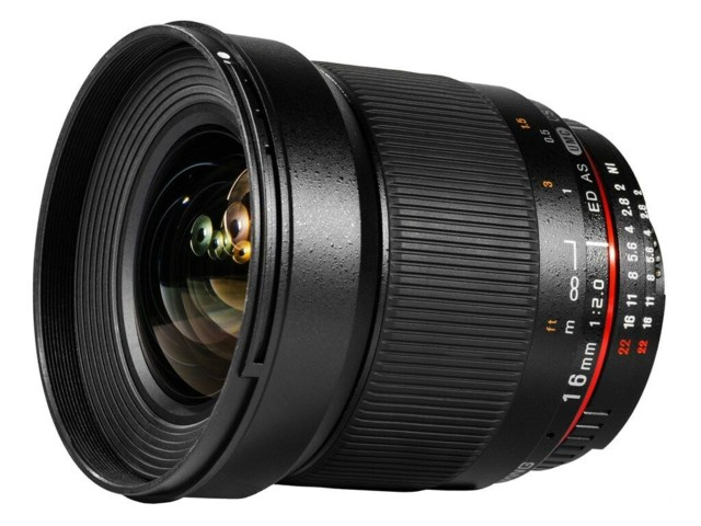 Samyang 16mm f/2,0 ED AS UMC CS / Sony E