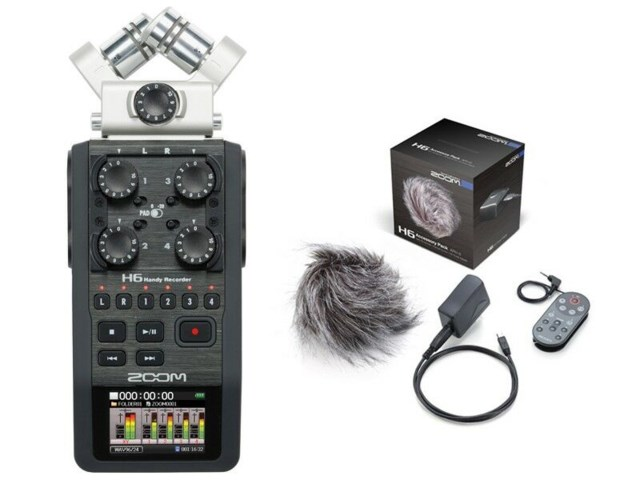 Zoom Handy Recorder H6 +