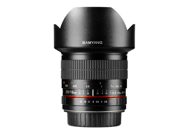 Samyang 10mm f/2,8 ED AS NCS CS/Canon EOS