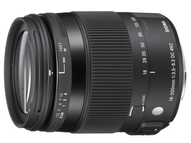 Sigma 18-200mm f/3,5-6,3 DC Macro OS HSM Contemporary / Canon