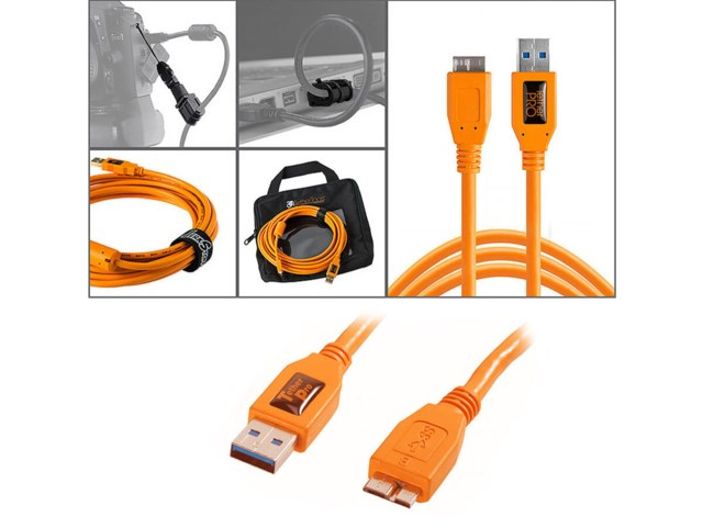Tether Tools Starter Tethering kit med USB 3.0 micro-B kabel
