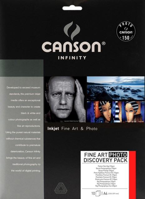 Canson A4 Discovery Pack Fine Art 10 arkkia