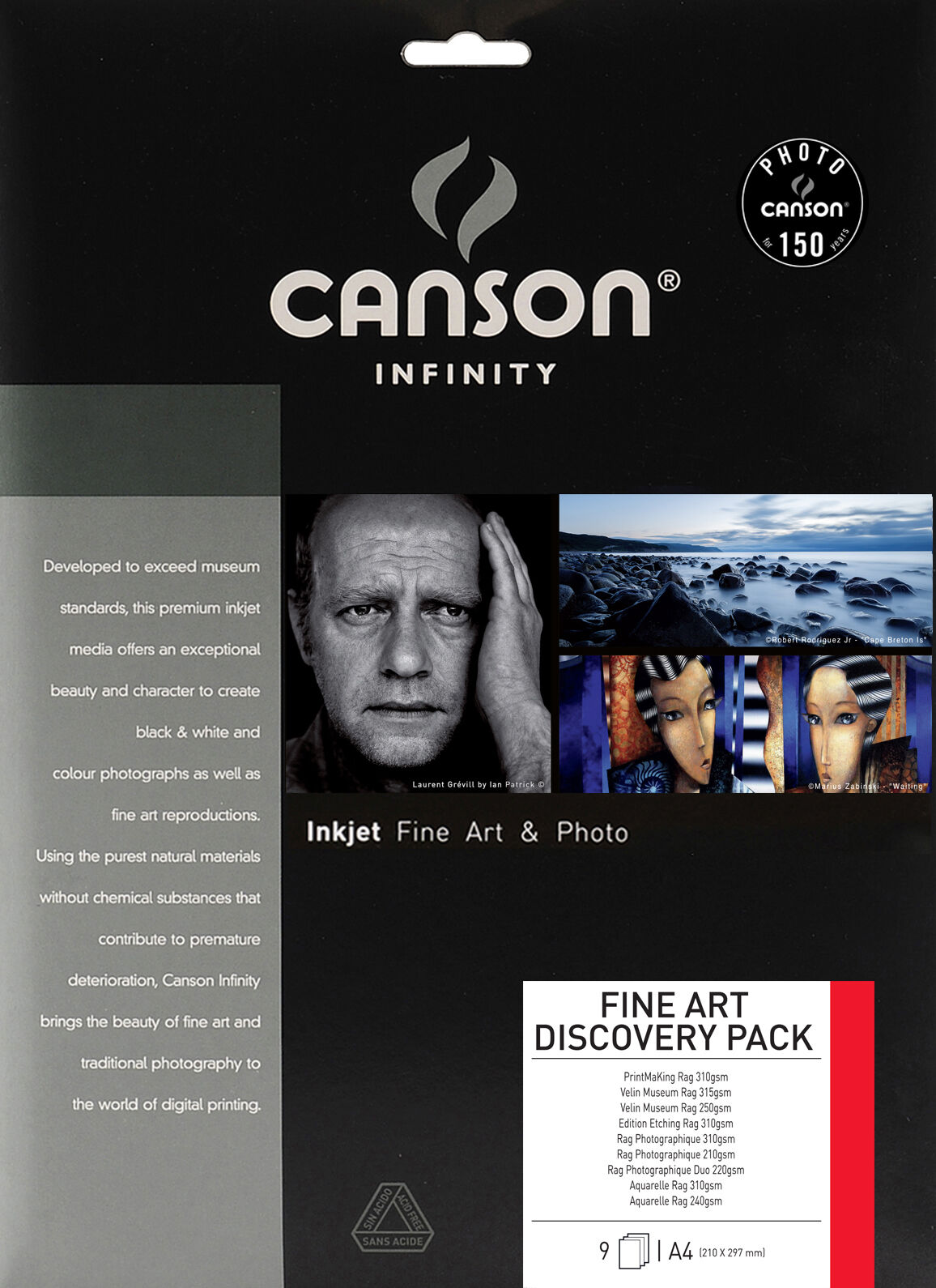 Canson A4 Discovery Pack Photo 9 arkkia