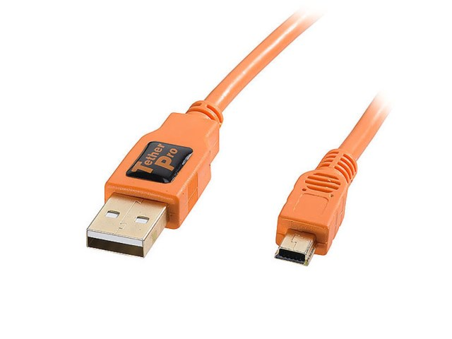 Tether Tools TetherPro USB 2.0 Male to Mini-B 5 pin 4.6m
