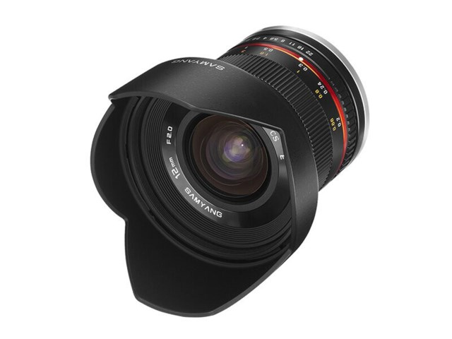 Samyang 12mm f/2,0 NCS CS hopea, Sony E -kameralle