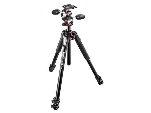 Manfrotto Jalusta-kit MK055XPRO3-3W alumiini