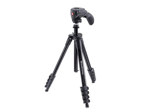 Manfrotto Jalustapaketti Compact Action MKCOMPACTACN-BK,