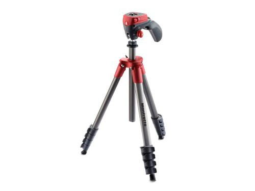 Manfrotto Jalustapaketti Compact Action MKCOMPACTACN-RD,