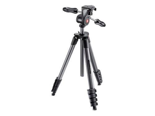 Manfrotto Jalustapaketti Compact Advanced MKCOMPACTADV-BK
