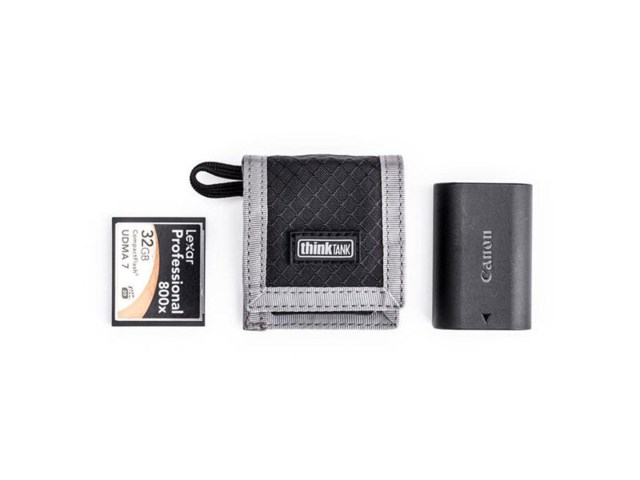 Think Tank laukku CF/SD + Battery Wallet