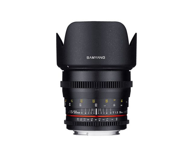 Samyang 50mm T1.5 AS UMC VDSLR Cine till Sony A