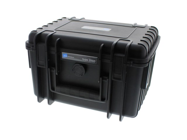 B+W Outdoor Cases Type 2000 BLK (Divider System)