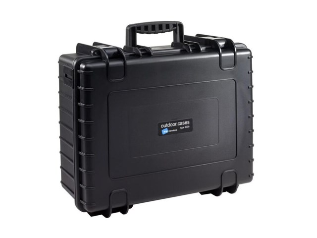 B+W Outdoor Case Type 6000 musta jakajilla