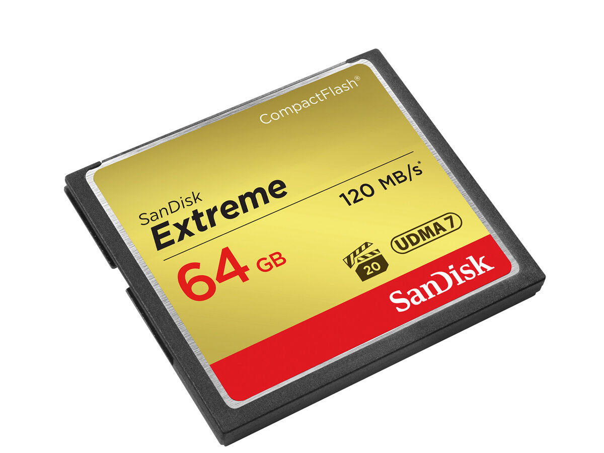 Sandisk Muistikortti  Compact Flash 64GB Extreme 120MB/s