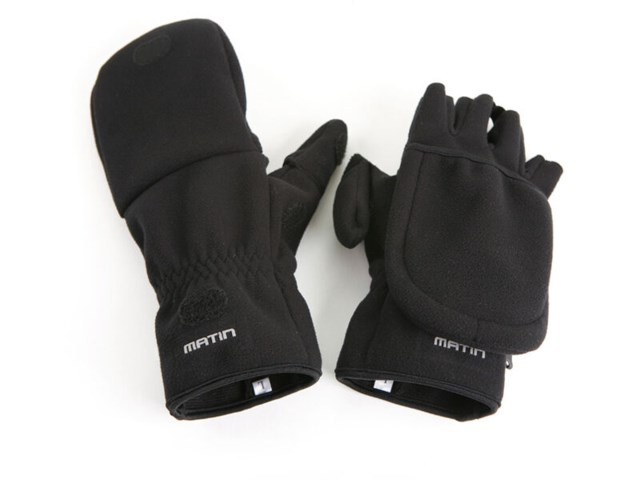 Matin Multi Shooting Glove L musta