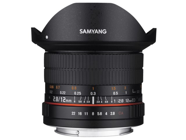 Samyang 12mm f/2,8 ED AS NCS Fisheye / Fuji X