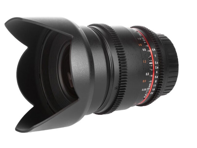 Samyang 16mm T2.2 ED AS UMC CS VDSLR II - Sony E