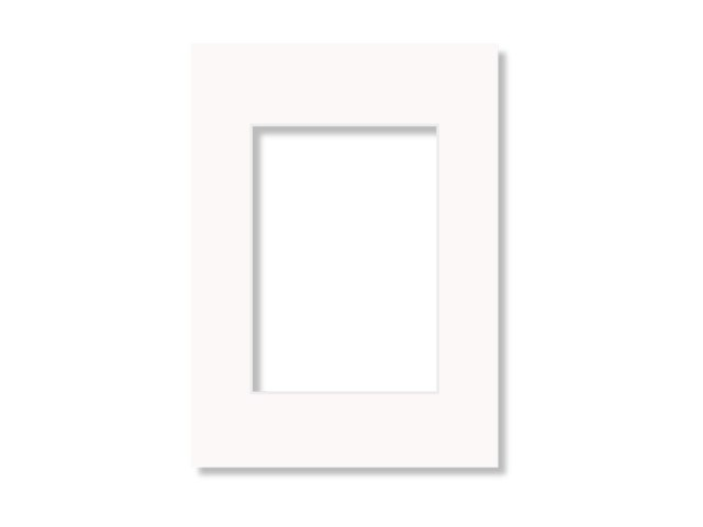 Scandinavian Photo Passepartout A3 offwhite