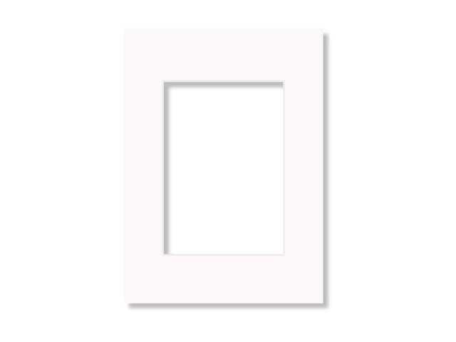 Scandinavian Photo Passepartout 60x80 offwhite