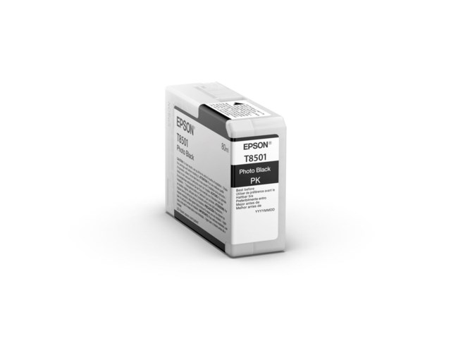 Epson Mustepatruuna Ultrachrome HD foto musta 80 ml