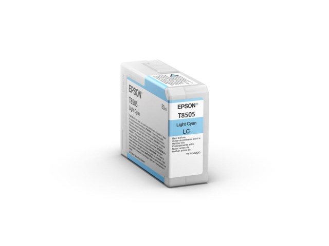 Epson Mustepatruuna Ultrachrome HD vaalea syaani 80 ml