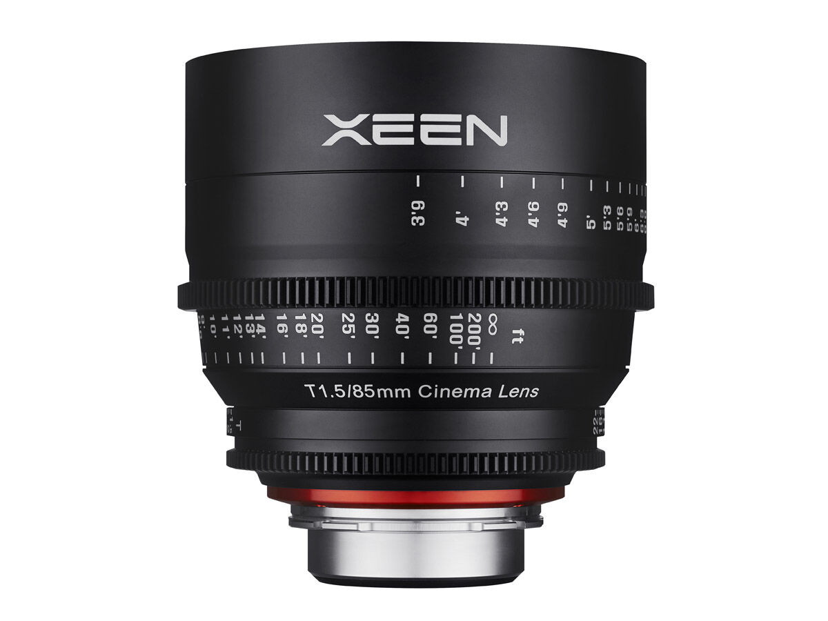 Samyang Xeen 85mm T1.5 Cinema till Micro 4/3