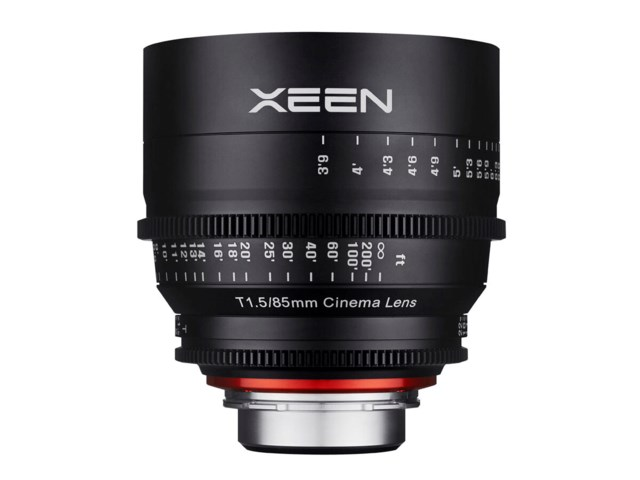 Samyang Xeen 85mm T1.5 Cinema Sony E-tyypille