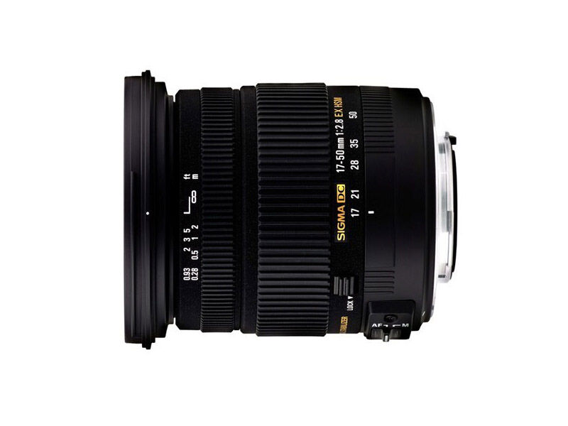 Sigma 17-50mm f/2,8 EX DC HSM Pentaxille
