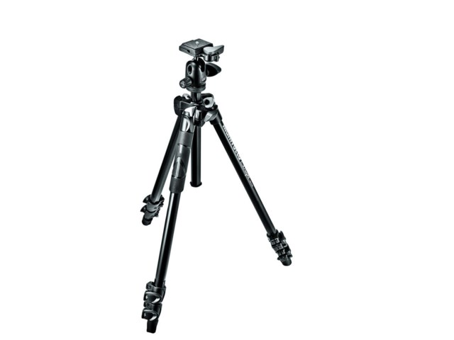 Manfrotto Jalusta-kit 290 Light alumiini + 494RC2 kuulapää