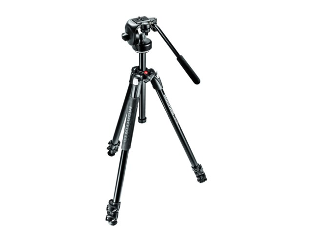 Manfrotto Jalusta-kit 290 Xtra alumiini + 128RC2 videopää