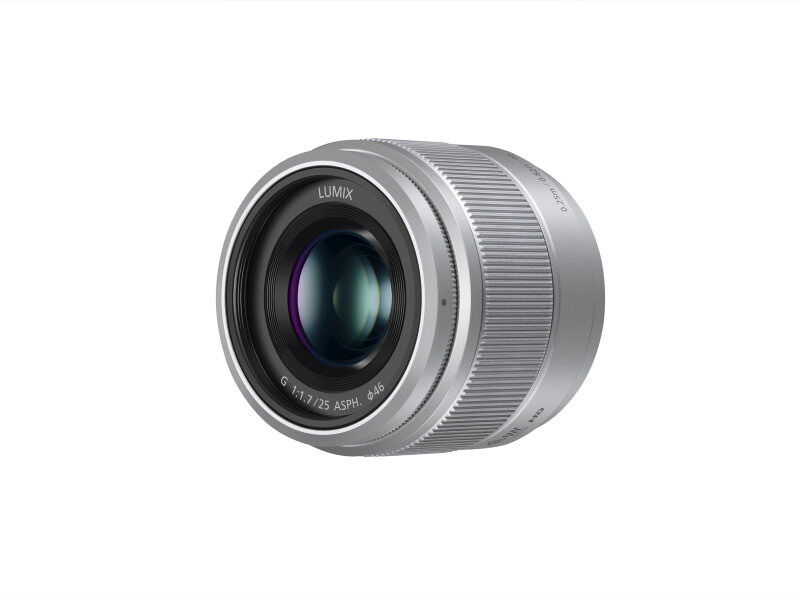 Panasonic Lumix G 25mm f/1,7 ASPH hopea
