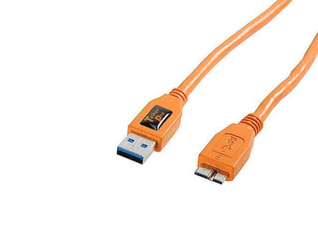 Tether Tools USB-kaapeli 3.0 uros - micro-B 5-pin 4,6m