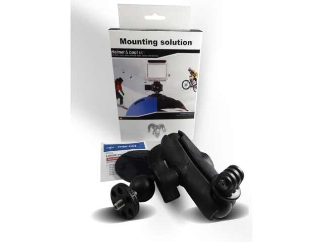 RAM Mounts Pieni Alp / MBT- Safe Helmet & Boot RAM Mount kit