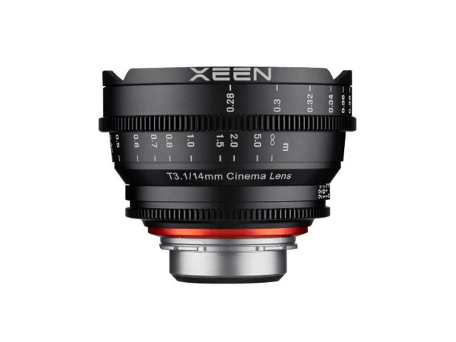Samyang Xeen 14mm T3.1 Cinema PL-mount