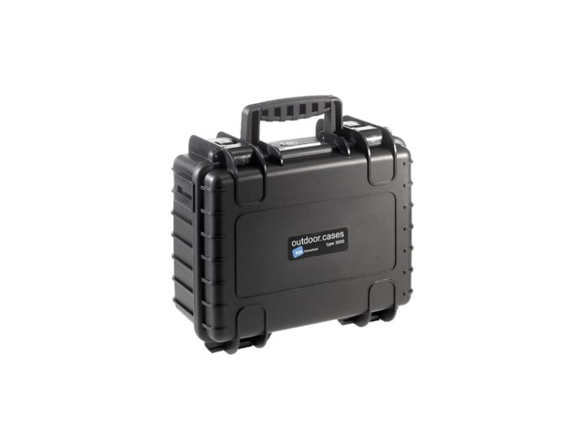 B+W Outdoor Case Type 3000 musta GoPro 4-kameralle