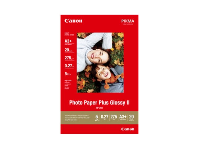 Canon Kuvapaperi A3+PP-201 Plus Glossy II 275 gr