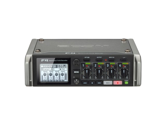 Zoom F4 Multitrack Field Revorder