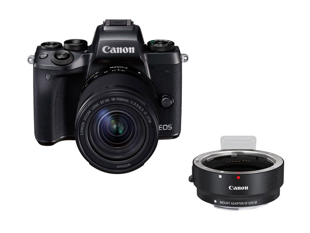 Canon EOS M5 + EF-M 18-150MM F/3,5-6,3 IS STM + EF-