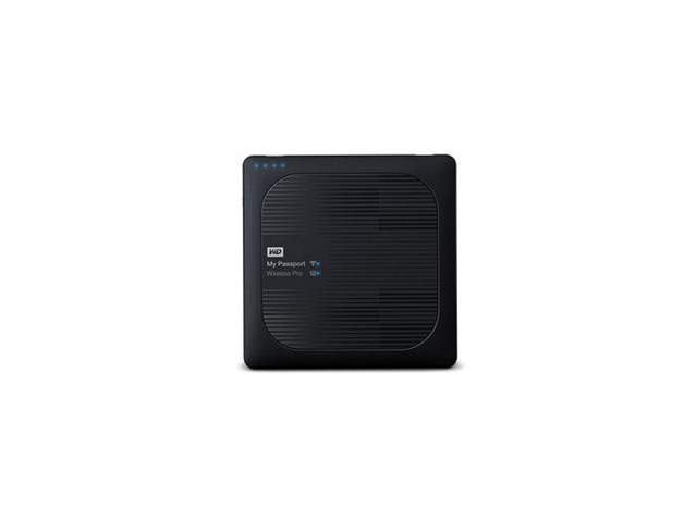 Western Digital My Passport Wireless Pro 4TB USB 3.0 och WiFi