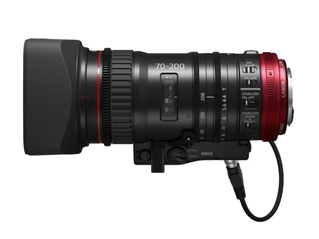 Canon CN-E70-200mm T4.4 L IS KAS S