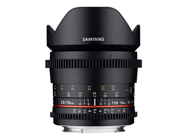 Samyang VDSLR 16mm T2.6 ED AS UMC / Canon EF