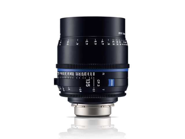 Zeiss Compact Prime CP.3 135mm T2.1 PL-mount