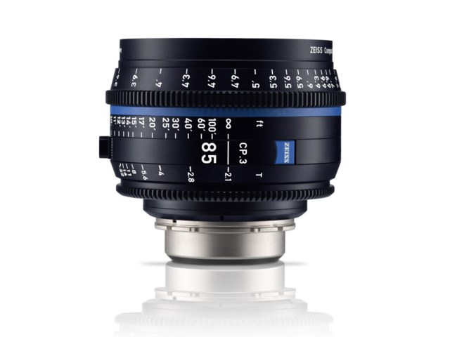 Zeiss Compact Prime CP.3 85mm T2.1 PL-mount