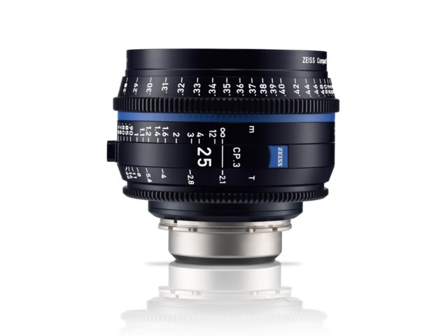 Zeiss Compact Prime CP.3 25mm T2.1 PL-mount