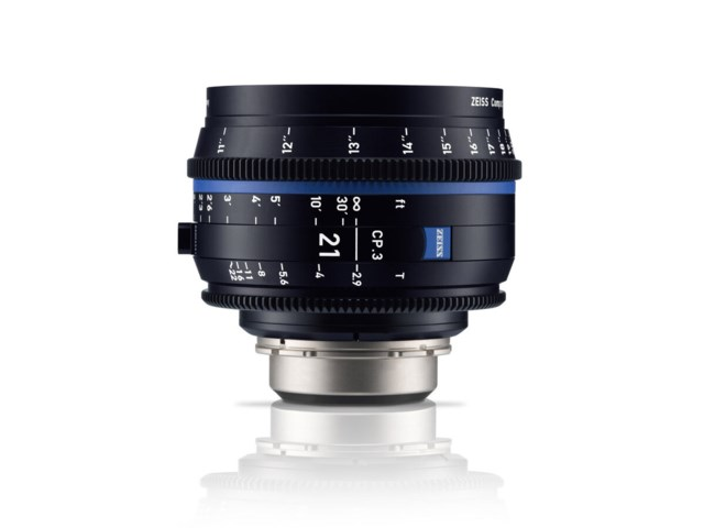 Zeiss Compact Prime CP.3 21mm T2.9 PL-mount