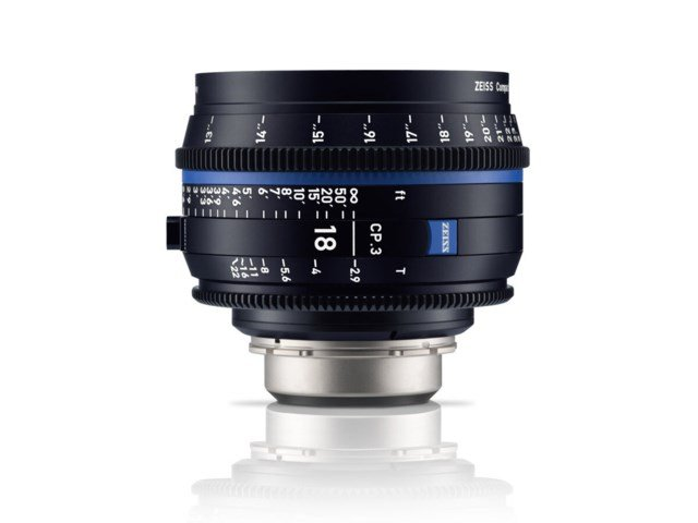 Zeiss Compact Prime CP.3 18mm T2.9 PL-mount