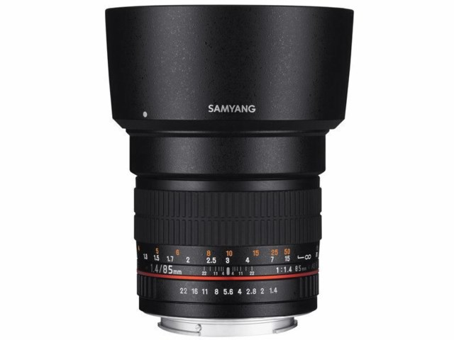 Samyang 85mm f/1,4 AS IF MC Aspherical / Fuji X